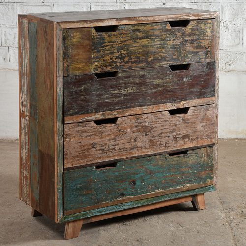 Manhattan reclaimed drawer chest