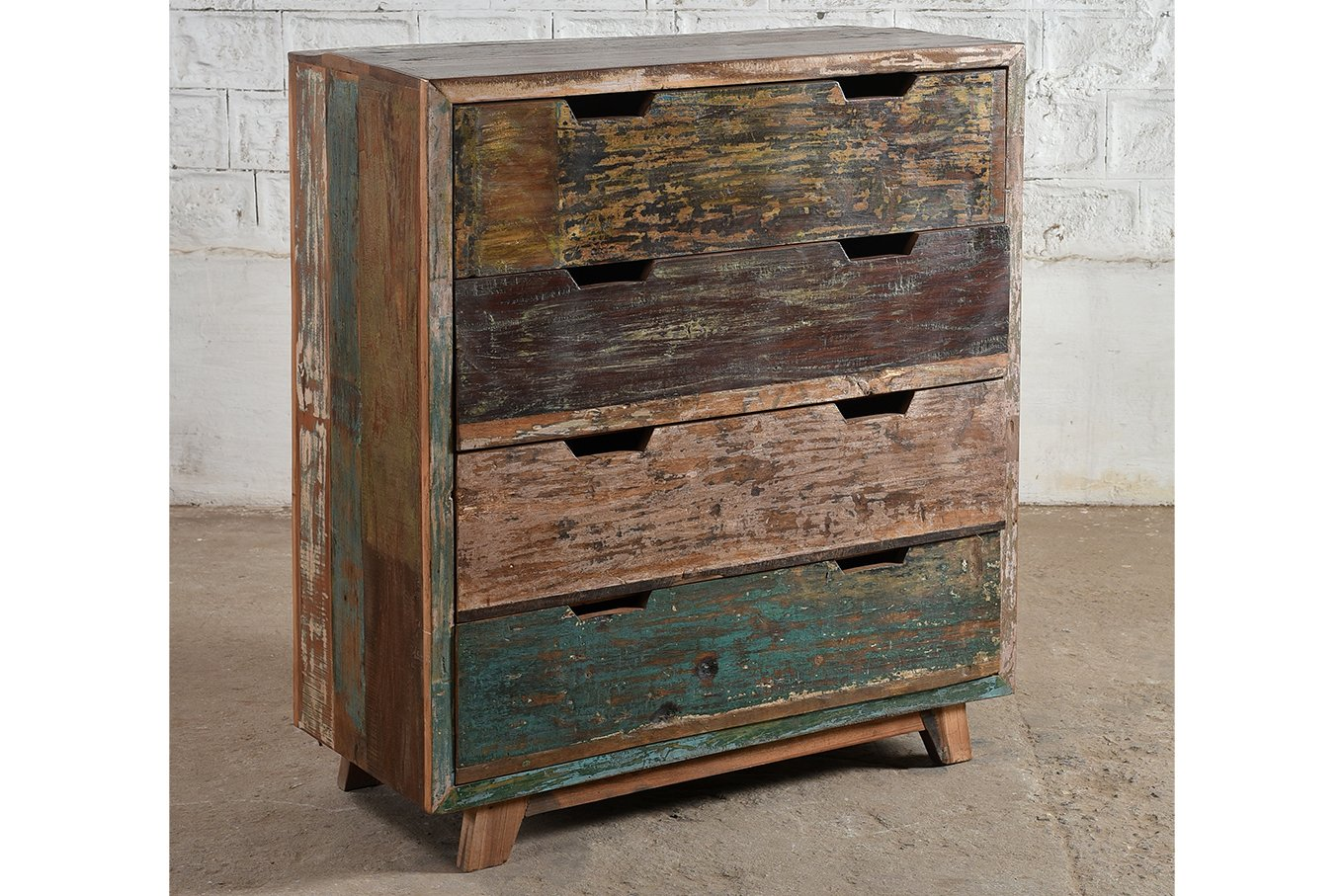 CD00001 MANHATTAN Reclaimed Drawer Chest