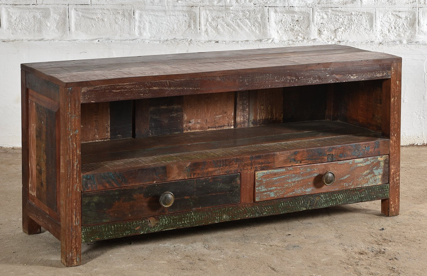 Reclaimed Wooden TV Unit cs00145