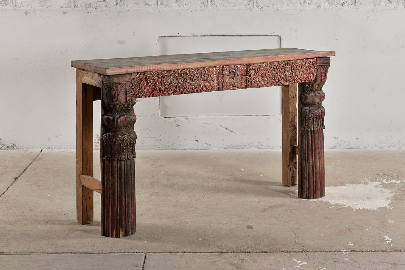 CS00237 HAMESHA Rose Console Table