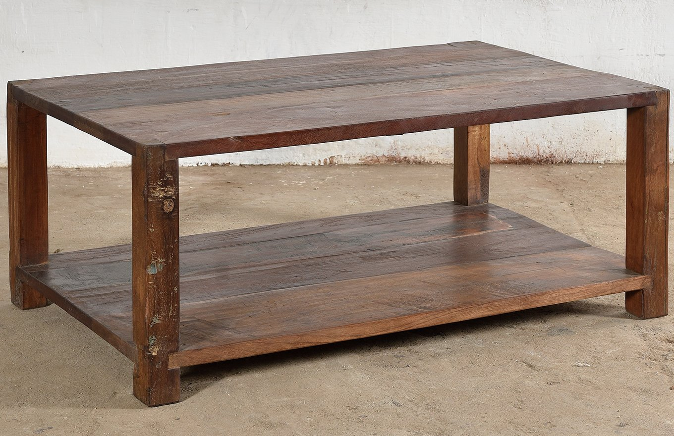 Reclaimed Wooden Coffee Table CT00108a