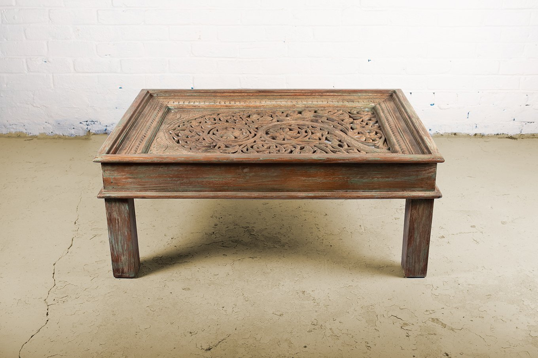 CT00140 HAMESHA Jali Window Coffee Table