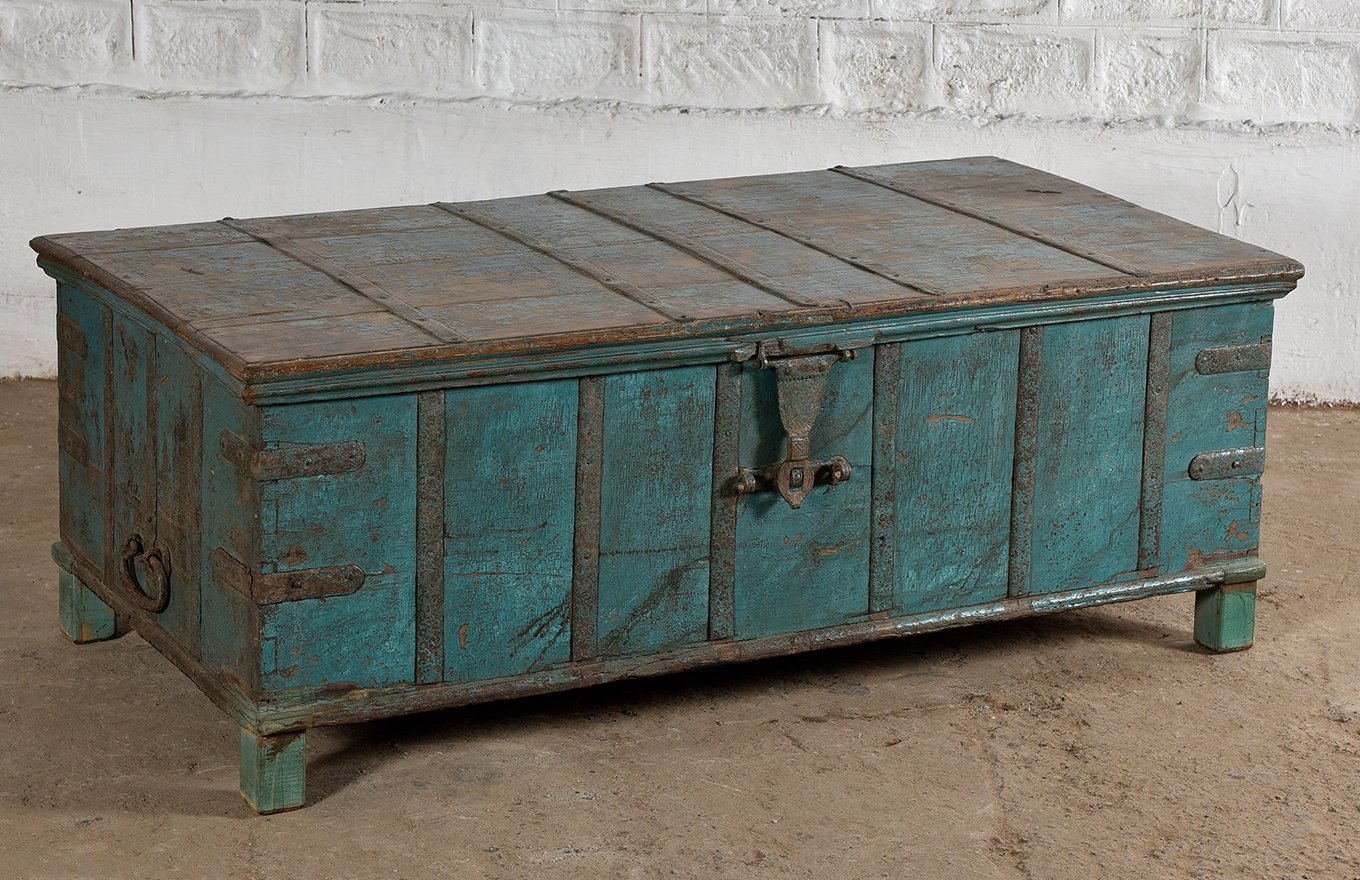 Grand Trunk Coffee Table Ember Home Unlocking The