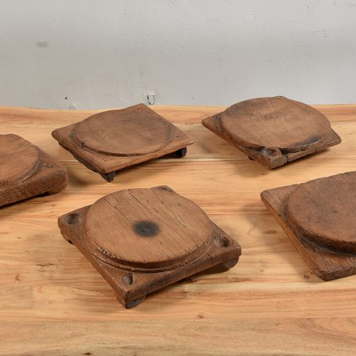 Original wooden board used to roll out chapatis
