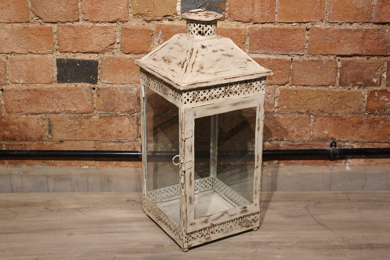 HC00579 VINTAGE White Lantern