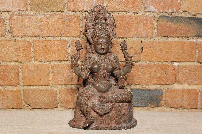 HC00659 Brass Lakshmi Statue