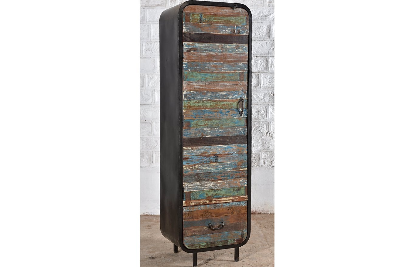 Industrial Tall Cupboard lc00053