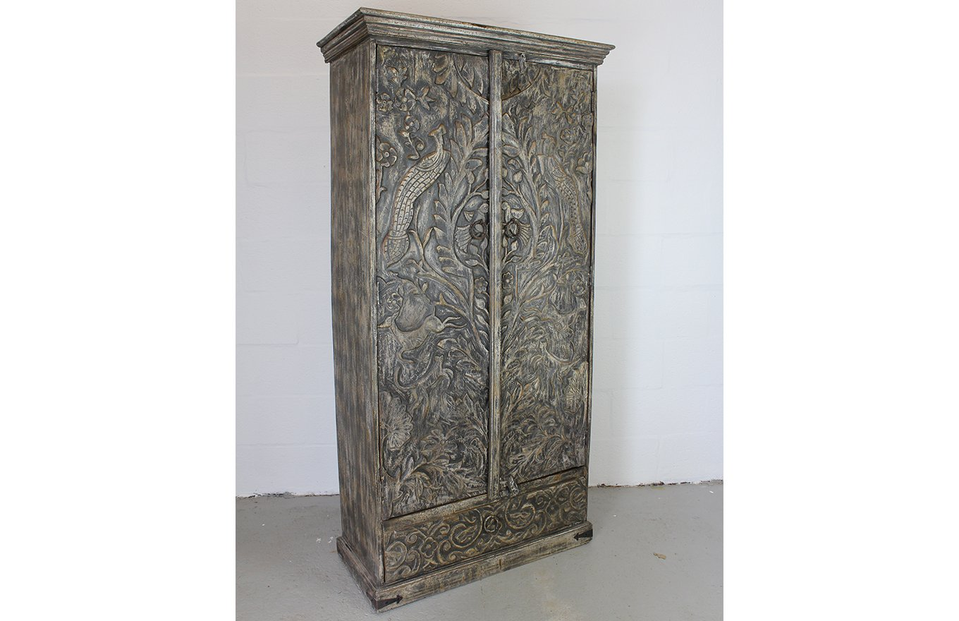 LC00055 VIENNE Carved Cupboard