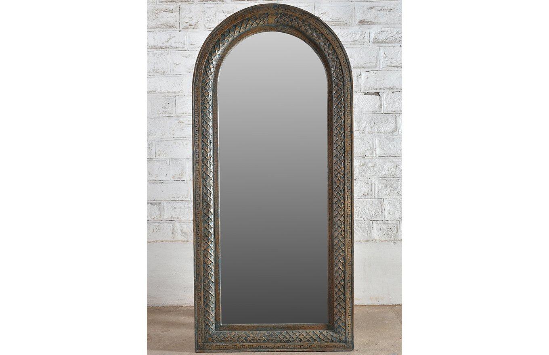 MR00133 HAMESHA Carved Mirror