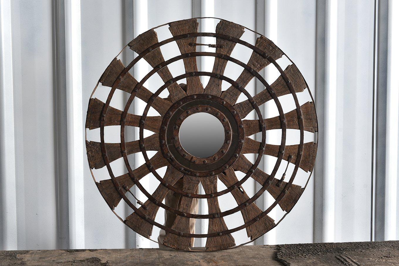 MR00158 HAMESHA Old Barrel Mirror G