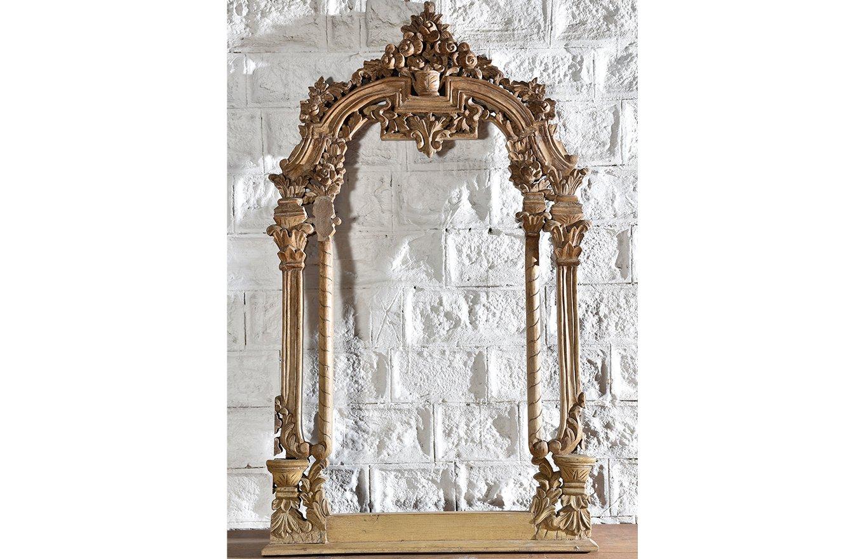 Ornate Wooden Mirror mr00130