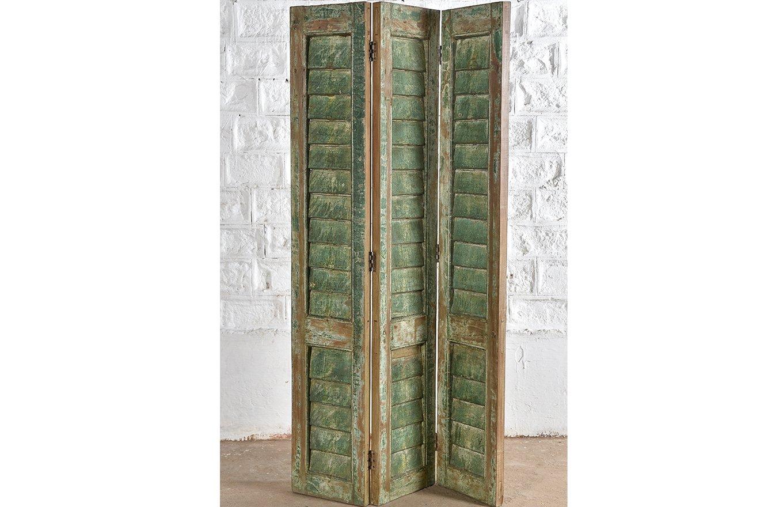 Painted Wooden-Shutter-Screen-dr00024