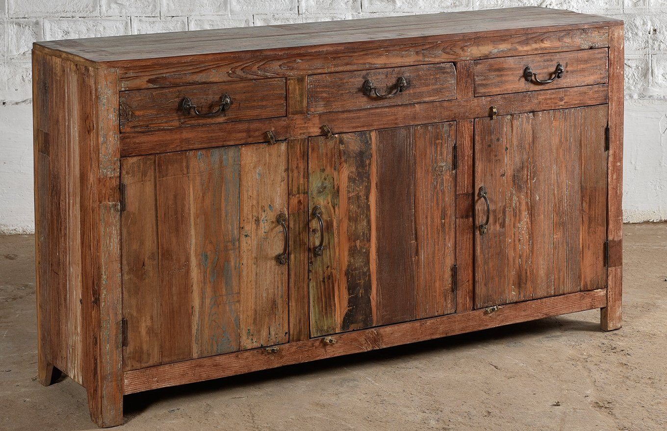 Reclaimed 3-Door Sideboard cs00192