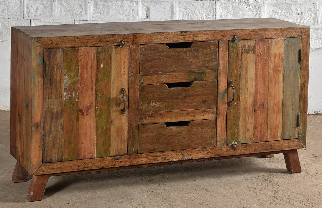 Reclaimed Wooden Sideboard cs00183