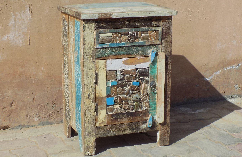Upcycled Bedside Cabinet SC00235