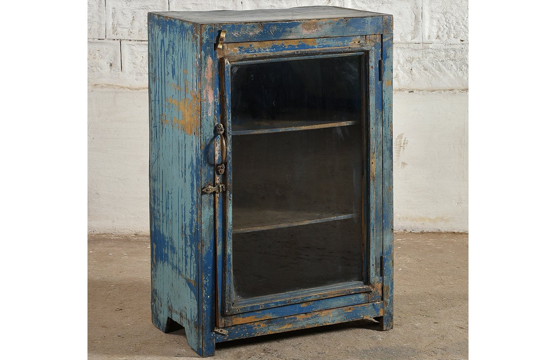 SC00289 HAVANA Blue Display Cabinet