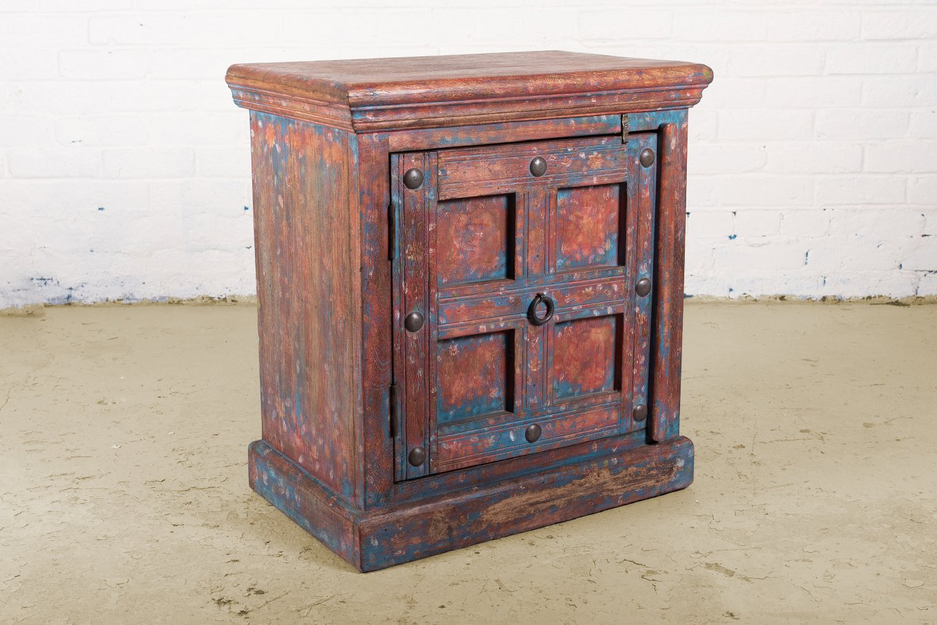 SC00315 HAVANA Red & Blue Cabinet