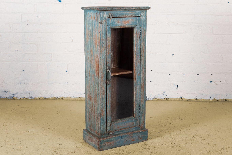 SC00343 HAMESHA Blue Display Cabinet
