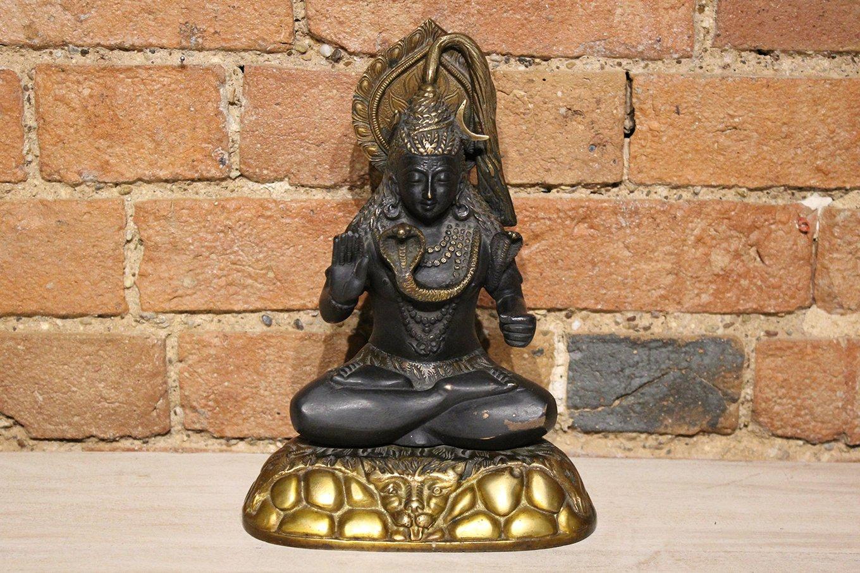 ST00005 Black & Bronze Shiva Statue