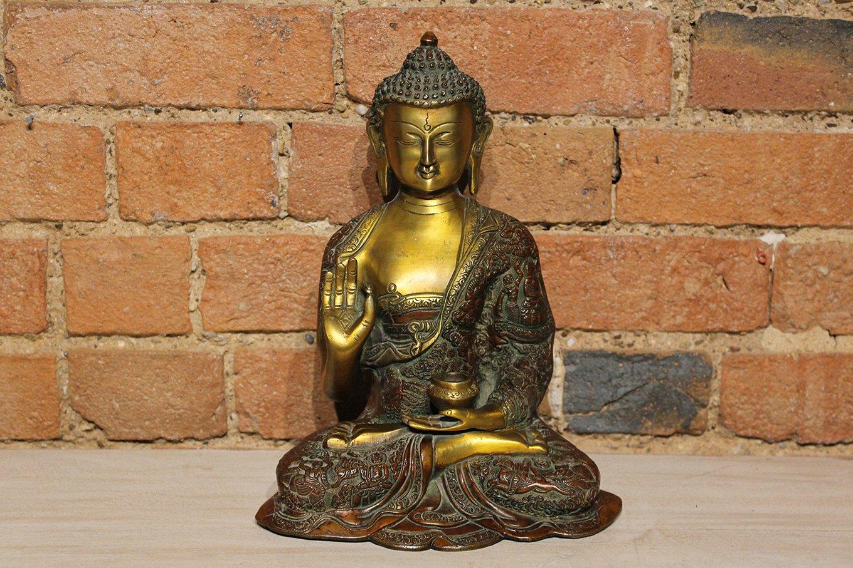 ST00020 Seated Gold Buddha