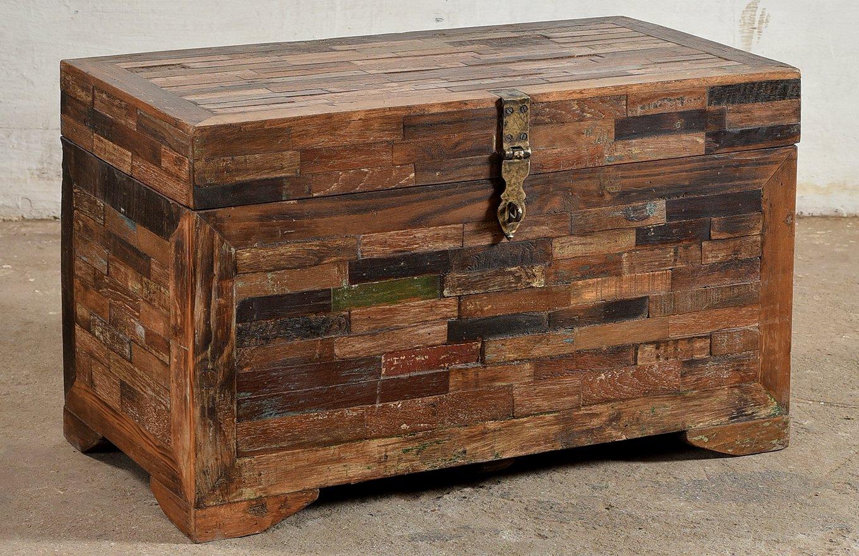 TC00115 HANOI Wooden Tile Chest