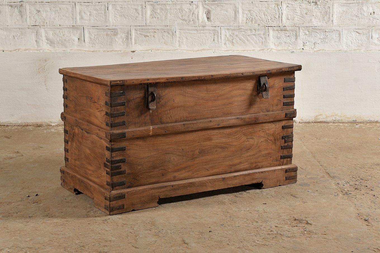 TC00128 HAMESHA Wooden Storage Box