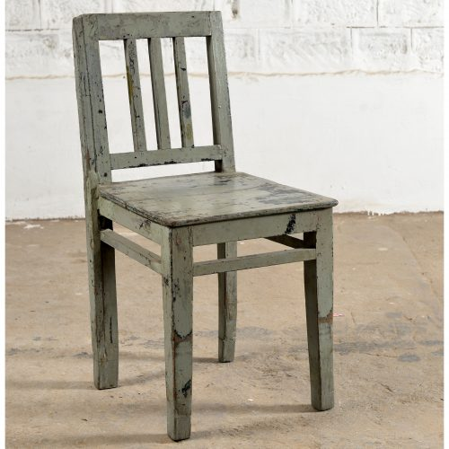 Original painted wooden chair