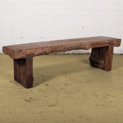 Original wooden bench